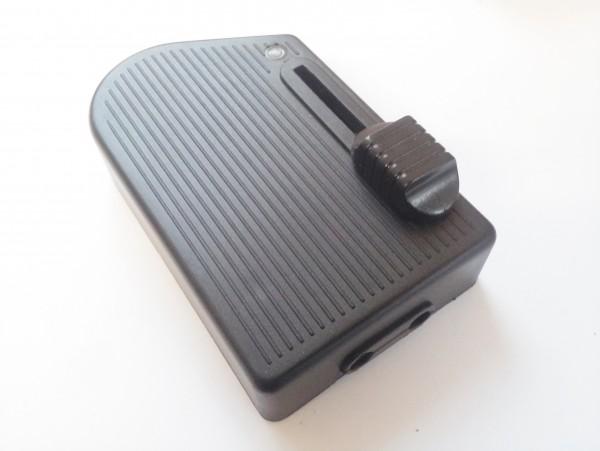 Dimmer switch floor slide foot dimmer 300 watt black for Floor lamp sliding dimmer switch