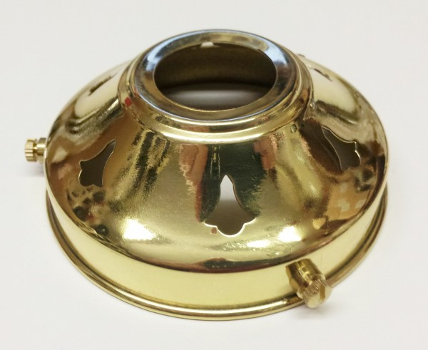 Polished Brass Lampshade Holder Gallery 3 1~4 inch