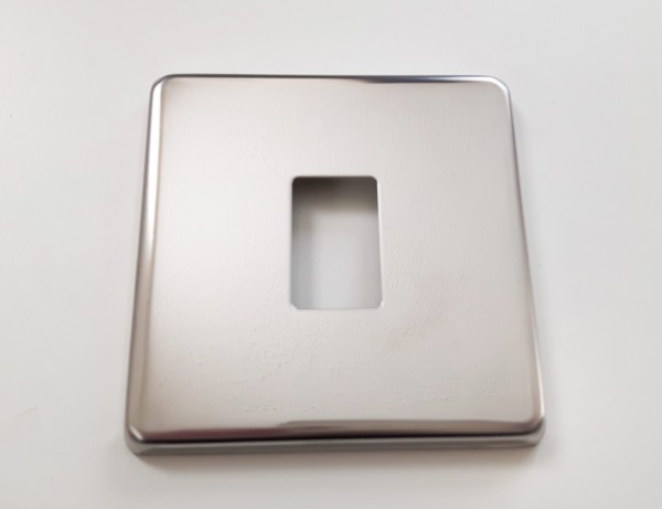 Light Switch Cover Plate Conversion in Victorian chrome Single