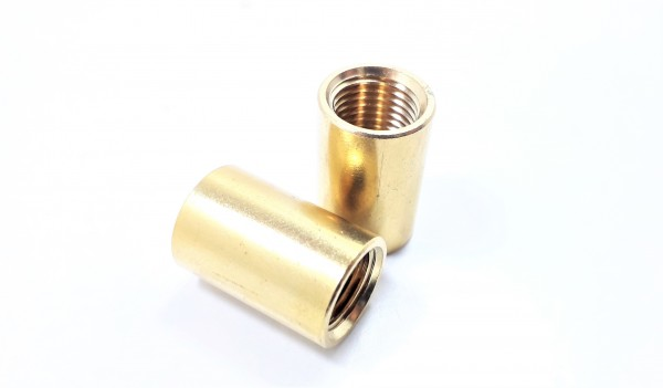 BRASS COUPLER 10MM INTERNAL THREAD