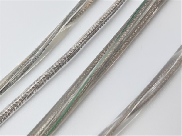 2 Core Round Clear Flex Lighting Cable 0.75mm