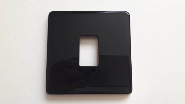 Black Light Switch Cover Plate Conversion