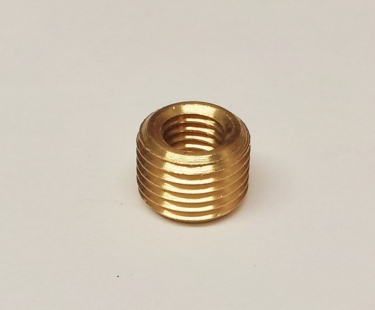 1 X SOLID BRASS REDUCER 10MM MALE TO 1~4