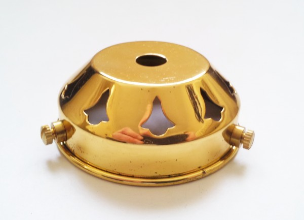 BRASS LAMPSHADE HOLDER 2 1~4 - 10mm centre hole