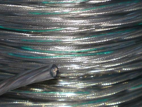 Clear 3 Core Pvc Electrical Cable 0.50mm