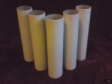 Candle Tube cover IN MAGNOLIA CARD - 100MM HIGH X 22M WIDE ( internal )