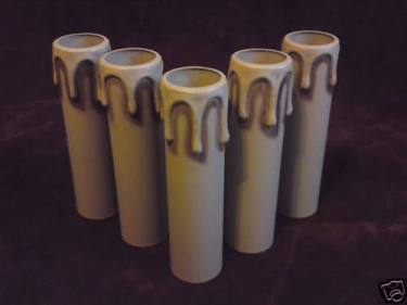 Candle Tube -Cover ANTIQUE DRIP 100 X 24MM x 1