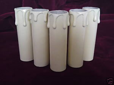 Candle Tube Cream Drip Card 85mm x 22mm