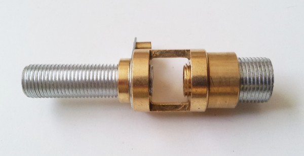 13mm to 10mm convertor reducer with centre hickey and earth tag