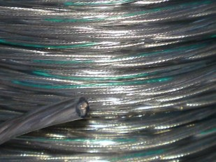 Clear 3 Core PVC  Electrical Cable 0.50mm Pack of SHORT LENGTHS
