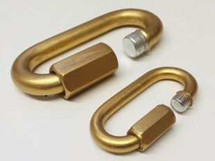 Hand Painted - Gilded And Varnished CHAIN LINK REPAIR - Screw Type