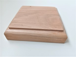 Plaster ceiling rose with flower pattern